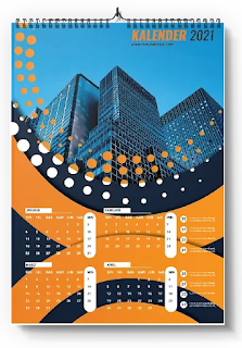 Free Kalender PSD: Download Desain Kalender Photoshop 2021/2022