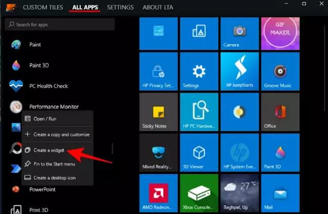 Cara Membuat Live Tile dan Widget di Windows 11-6
