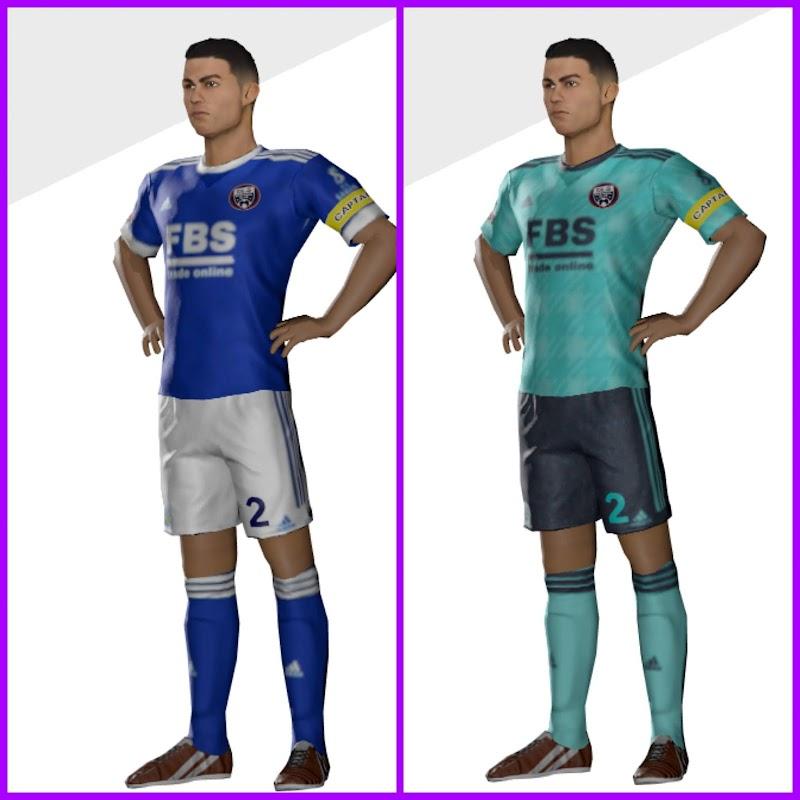 Kit Leicester City 2022 & Logo Dream League Soccer