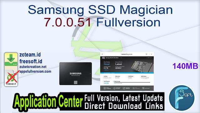 Samsung SSD Magician 7.0.0.51 Fullversion