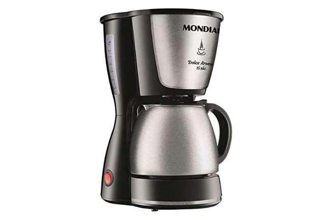 Cafeteira Elétrica Mondial Dolce Arome Inox