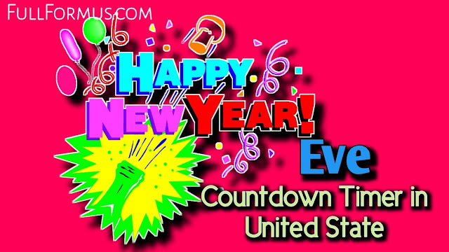 New Year's Eve in United States Countdown 2021