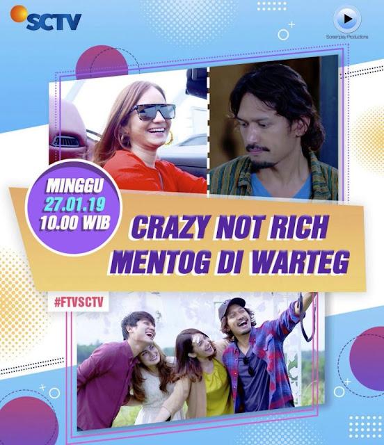 Nama Pemain FTV Crazy Not Rich Mentog di Warteg SCTV