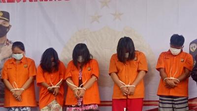 Sering Beraksi, Sekelompok Ibu Rumah Tangga Ini Ditangkap Polisi