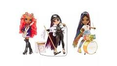 Рок-группа Rainbow High: куклы Vanessa Tempo, Lyric Lucas и Carmen Major