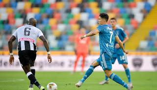 موعد مباراة يوفنتوس واودينيزي في الدوري الايطالي