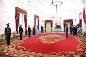 Presiden Jokowi Terima Surat Kepercayaan dari Sembilan Negara Sahabat