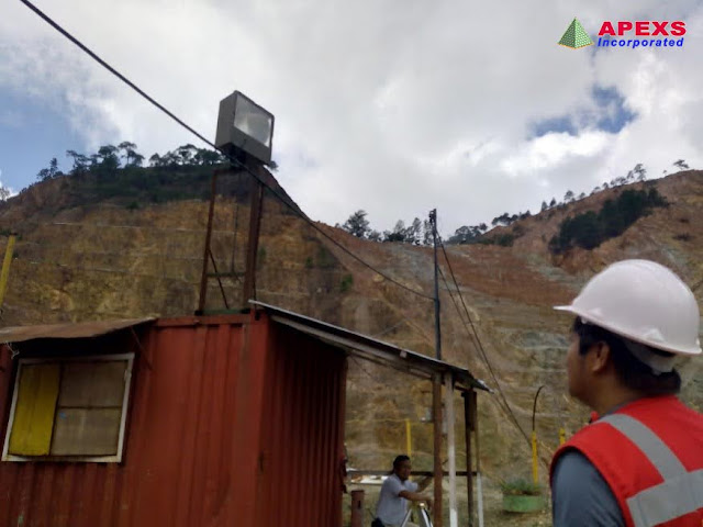 APEXS: 2018 Ocular Inspection at PhilEx Mining Corporation in Benguet for Automated Weather Station Installation (AWS).