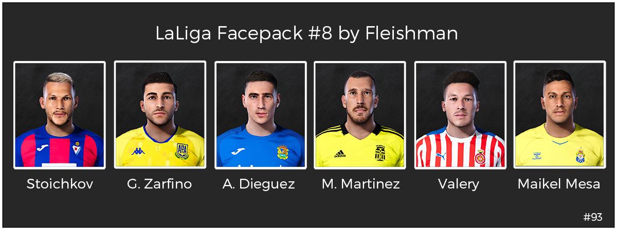 PES 2021 LaLiga Facepack