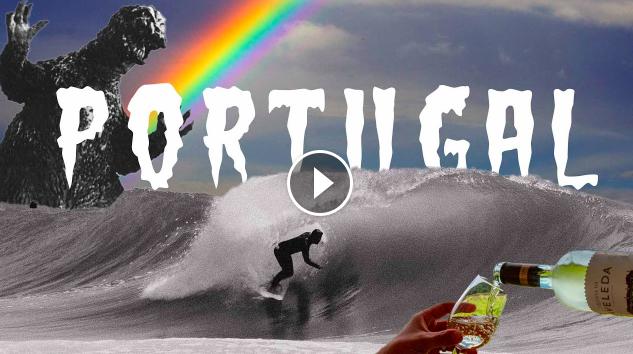 VINHO VERDE Tanner Gudauskas Marlon Lipke Gony Zubizarreta Perfect Portugal Beach Breaks