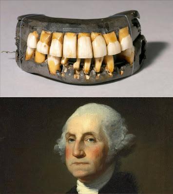 George Washington and his false teeth
