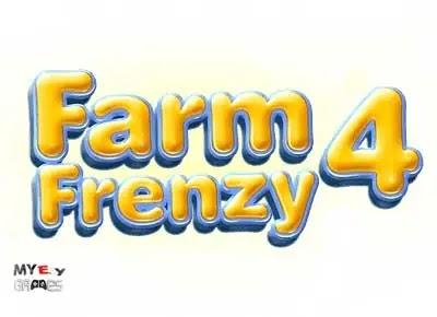 تحميل لعبة مزرعة الحيوانات 4 Farm Frenzy برابط مباشر للكمبيوتر من ميديا فاير