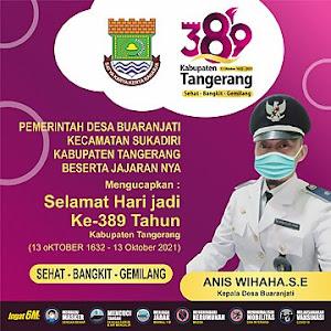 Ucapan HUT Kabupaten Tangerang