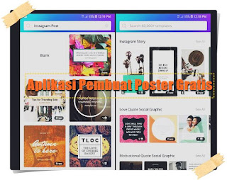 aplikasi pembuat poster gratis - kanalmu