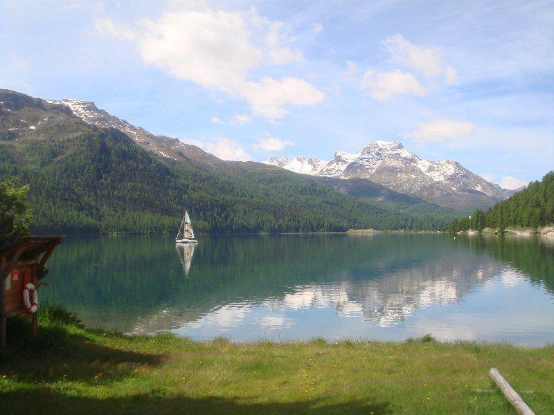 Lake Silvaplana Switzerland