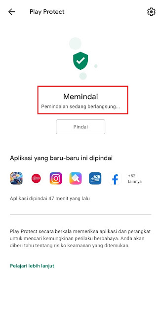 Cara Mengecek Keamanan Aplikasi Yang Sudah Terinstall atau Baru Mau Diinstall Menggunakan Google Play Protect