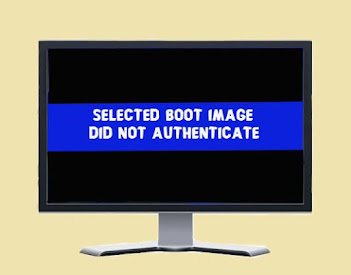 Fix Selected Boot Image Did Not Authenticate