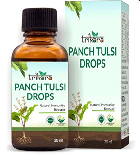RCM Trikara Panch Tulsi Drop(30ml) (Natural Immunity Booster)