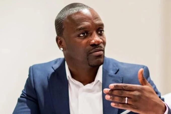 I was happier when poor — Singer, Akon