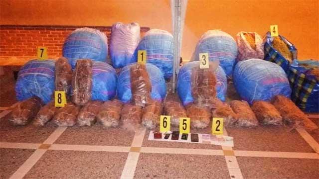 أولاد تايمة: اعتقال شخصين متورطين ضمن شبكة إجرامية لترويج المخدرات
