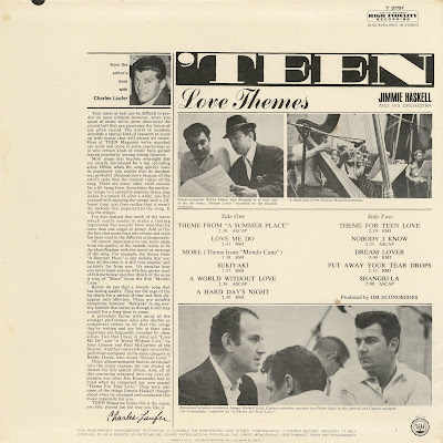 Jimmie Haskell & His Orchestra - Teen Love Themes (1964)