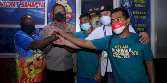 PON XX Papua Cabor Tinju Adu Jotos di Luar Ring