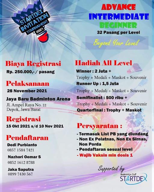 Turnamen Badminton STARTDEX