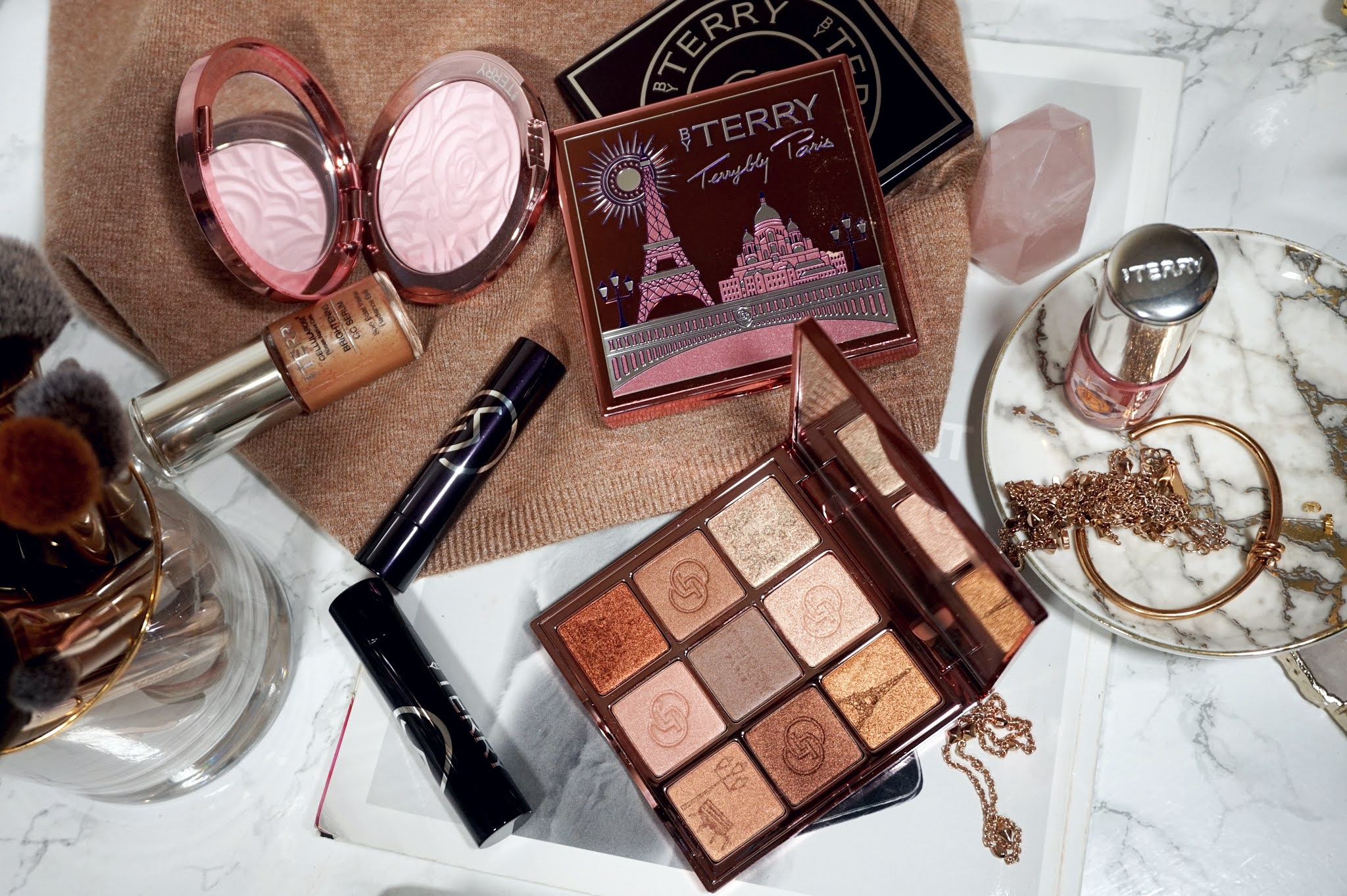 By Terry V.I.P. Expert Bonjour Paris Palette Review and Swatches