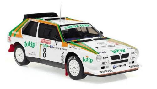 WRC collection 1:24 salvat españa, Lancia Delta S4 1:24