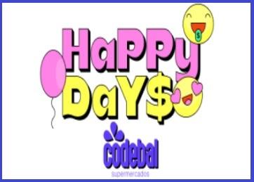 Happy Days Codebal Supermercados 2021 Promoção