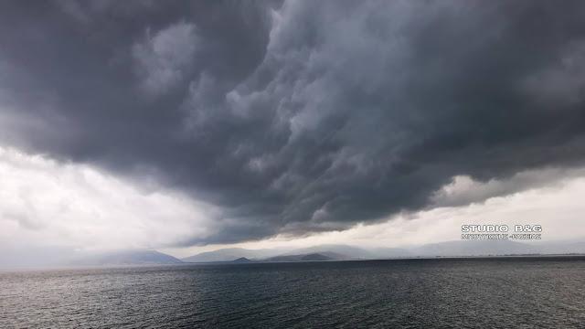 Καταρρακτώδης βροχή στην Αργολίδα - Πρόγνωση του καιρού για την επόμενη εβδομάδα