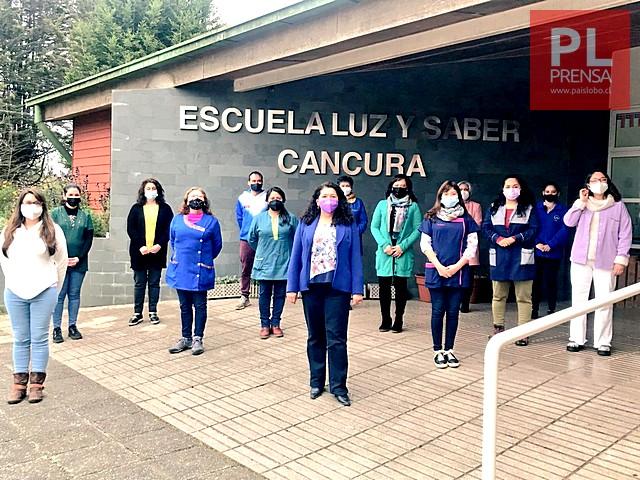 Escuela Rural Luz y Saber de Cancura