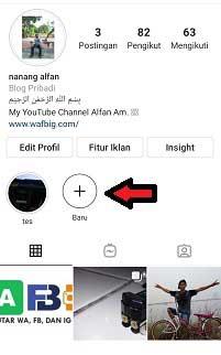 Cara Menambahkan Sorotan di Instagram