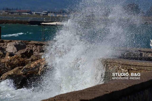 Λιμεναρχείο Ναυπλίου: Προσοχή στις καταιγίδες και στους σφοδρούς ανέμους