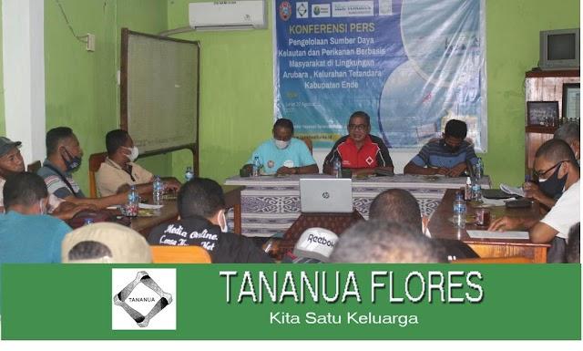 Tananua Flores Gelar Konferensi Pers Terkait Program Perikanan dan Kelautan