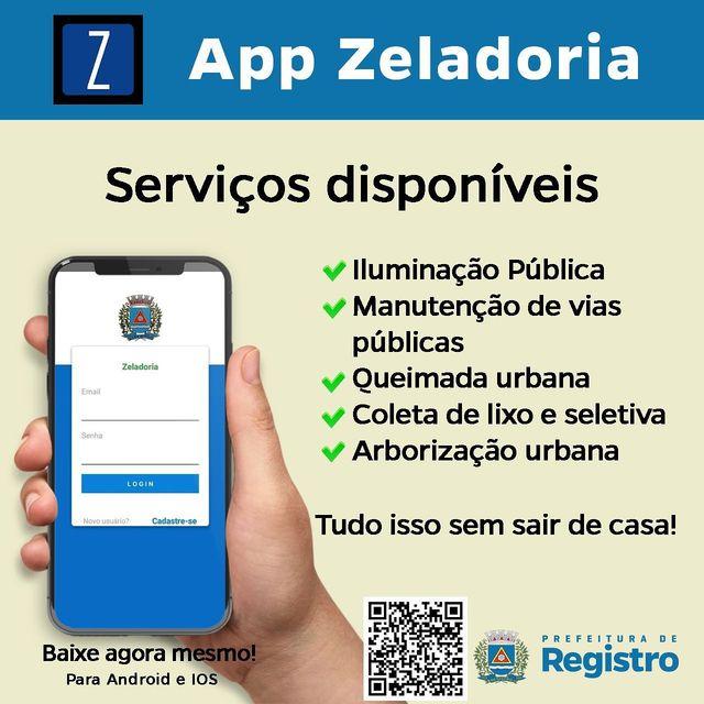 Conheça o  App Zeladoria