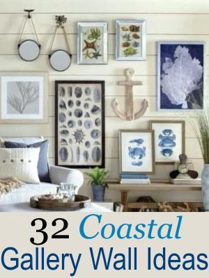 Coastal Art Gallery Wall Ideas Shop the Look
