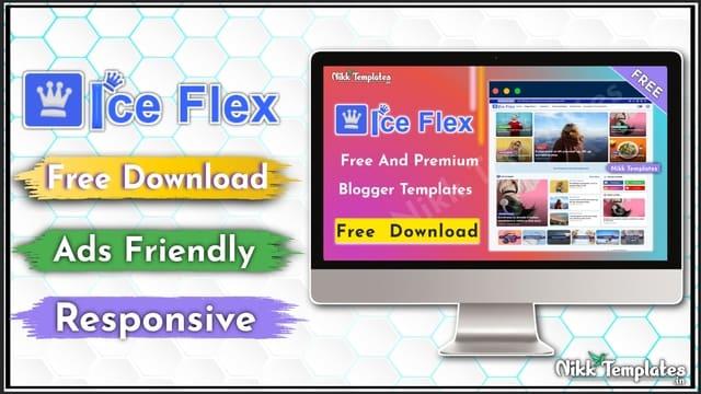 IceFlex - Professional & Creative Blogger Templates