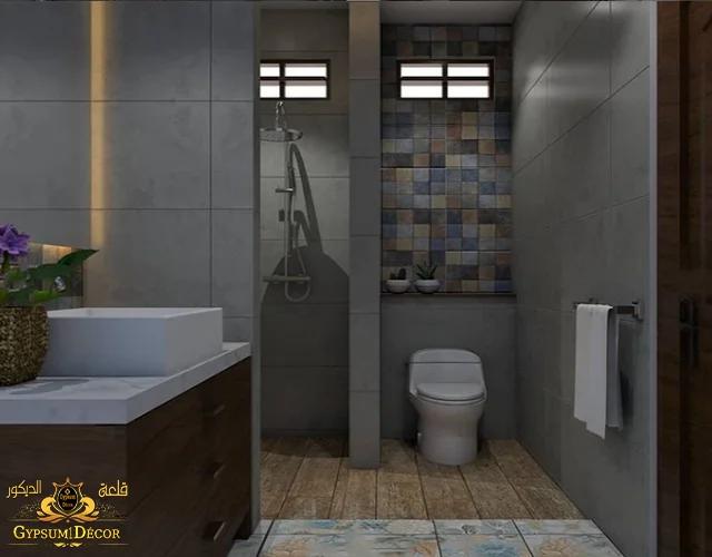 ديكور حمامات وتصاميم حديثة