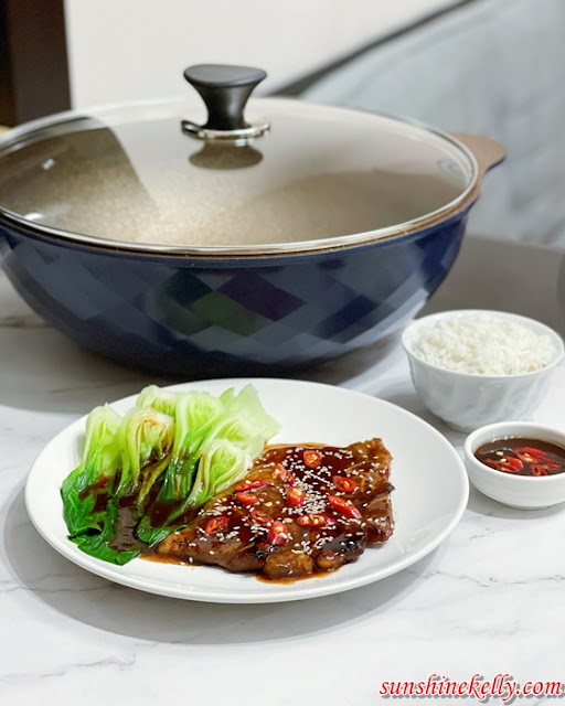 Review NUYEO Sigmul Wok with Ultra Stone Coating, NUYEO cookware,  NUYEO Sigmul Wok, Cookware review, korea cookware, cooking, lifestyle