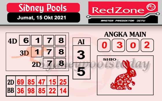 Redzone SDY Jumat 15 Oktober 2021 -