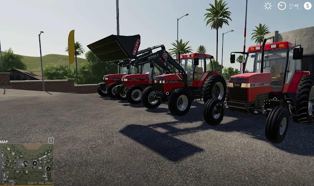 FS19 Case IH Maxxum series US from 1990 to 1997 v1.0