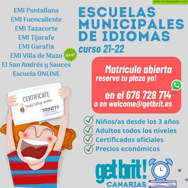 Comienzan las clases en la Escuelas Municipales de Idiomas en La Palma