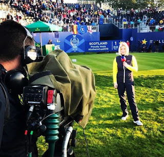 Picture of Sarah Stirk reporting
