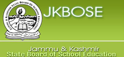 JKBOSE issues Date Sheet for Higher Secondar Examination Part ‐II Class 12th for the Annual Regular session 2021 of Kashmir Province