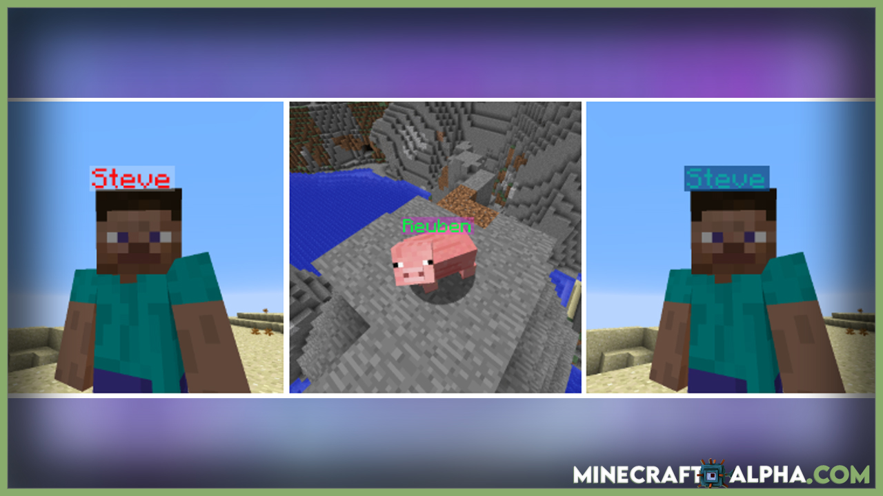 Minecraft Name Pain Mod For 1.17.1