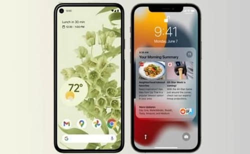 Steve Jobs would prefer Android 12 over iOS 15