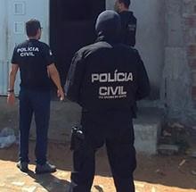 Polícia Civil deflagra operação para cumprir 44 mandados de prisão e de busca e apreensão em Mossoró.