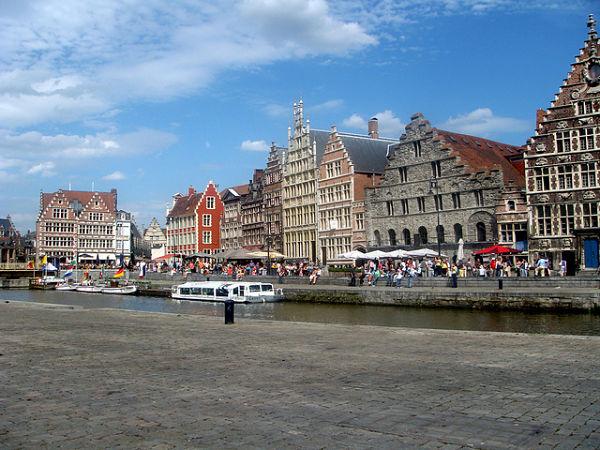 Graslei Ghent Belgium