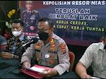Polres Nias Komitmen Mengungkap Kasus penemuan Mayat Di Pantai Hoya.